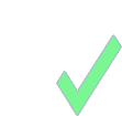 Icon of an eligibility checkmark